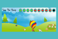Videogioco Save the Sheep - Banner Game