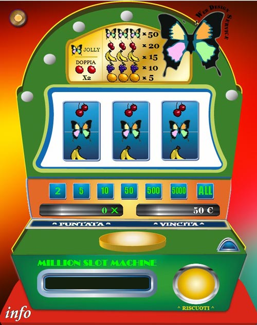 slot machine gratis tre desideri